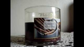 Bath and Body Works Candle Review: Cinnamon & Clove Buds (2013)