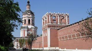 Донской монастырь. Москва.(Донской мужской монастырь - один из старейших обителей Москвы. Был основан в 1591 году, царем Федором Иоаннови..., 2016-04-15T14:36:22.000Z)