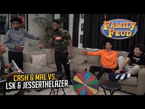 2HYPE Family Feud vs. CashNasty & Mal - FUNNIEST FAMILY GAME EVER!