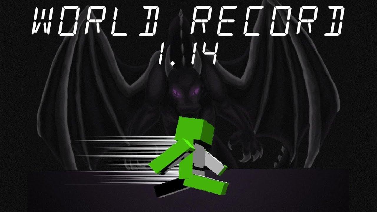 Minecraft Speedrun World Record 11.111