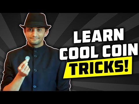 3 EASY Coin Tricks You Can Learn In 5 MINUTES!!!