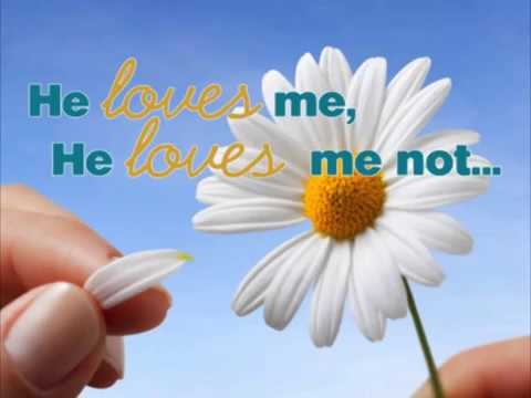 Image result for image of he loves me he loves me not