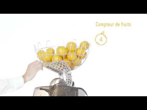 Presse-agrumes OrangeLand 41...Noir intensément orange...
