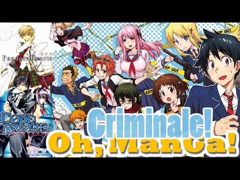 Обзор манги Криминале! Сердца Пандоры, Разрушитель законов (Pandora Hearts,Code Breaker, Criminale!)