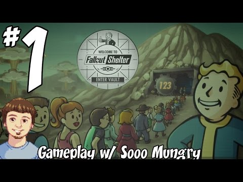 Fallout Shelter Gameplay - PART 1 - Make A Dweller Baby! (Mobile IOS & Android Game By Bethesda)