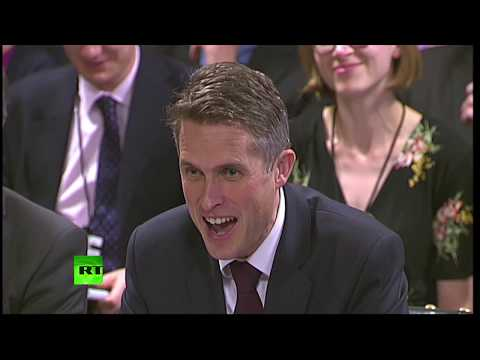 LIVE: Gavin Williamson gives evidence to MPs on the Defence Committee