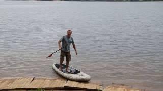 SUP Gladiator boards - тест и настройка надувной доски для САП серфинга Гладиатор