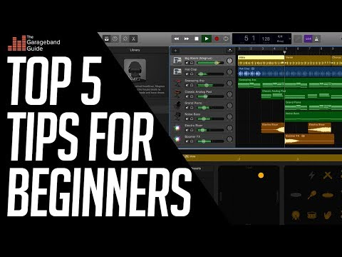 GarageBand Tutorial for Beginners 2018