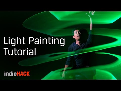 Light painting tutorial - Camera settings for creative photos - Kingston indieHACK Ep. 4