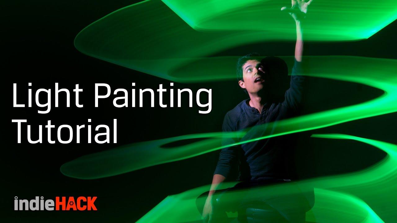 Light Painting Tutorial Camera Settings For Creative Photos Kingston Indiehack Ep 4 Youtube
