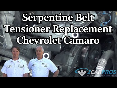 Serpentine Belt Tensioner Replacement Chevrolet Camaro 19952002. Serpentine Belt Tensioner Replacement Chevrolet Camaro 19952002. Chevrolet. Serpentine Belt Diagram 2002 Chevy Camaro At Scoala.co