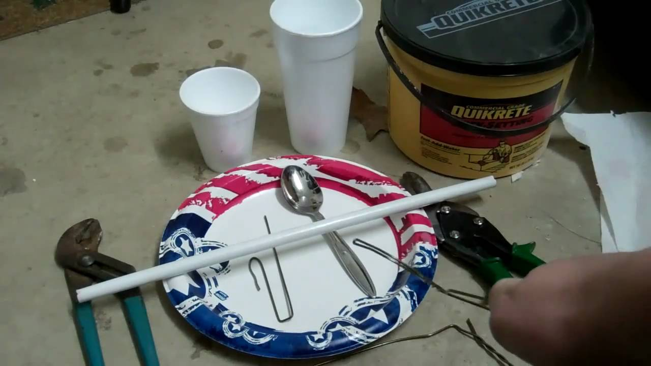 How To Make Fishing Weights Youtube
