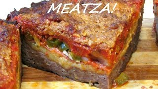 Deep Dish Pizza Meat Pie (Low Carb Recipe)