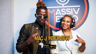 """Musician Mac J speaks on his music journey and """"making music for people"""" on Phly 3 to 5"""