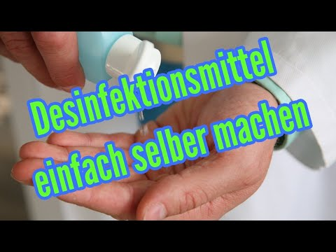 Händedesinfektion Selber Herstellen