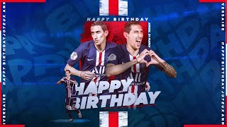 VIDEO: HAPPY BIRTHDAY ANGEL DI MARIA