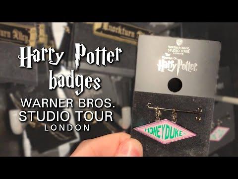 Harry Potter Badges At The Warner Bros Studio Tour