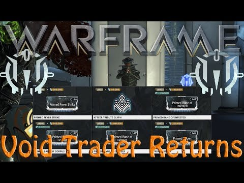 Warframe - Void Traders Returned! 77th rotation
