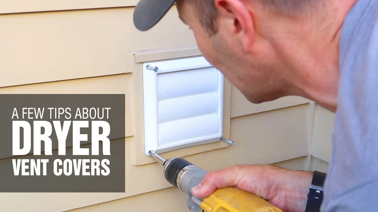 how a clogged vent can break dryers replacing outdoor dryer vent cover