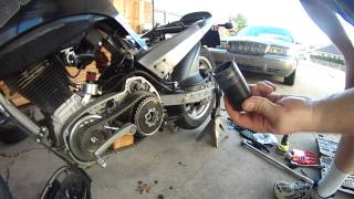 Problems Removing Buell Blast Clutch Bolt