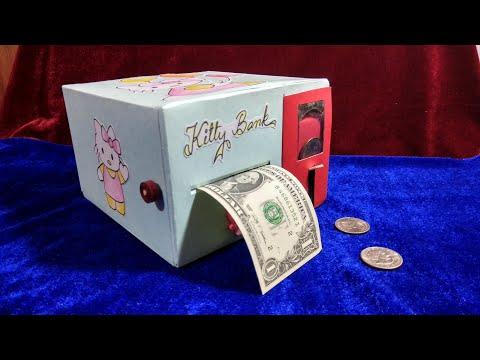 Simple Piggy Bank | DIY Coin Bank Idea & How to Make It / Piggy bank / Mamma art