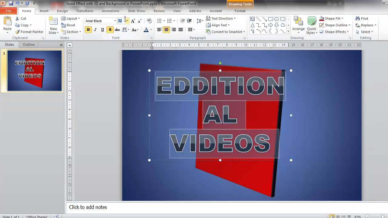 How to Make a Good PowerPoint Presentation - Introduction Slide ...