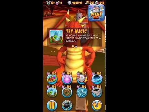 Catapult King Level 127 walkthrough
