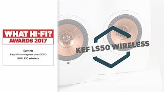 KEF LS50 Wireless - Best all-in-one system over £1000 - What Hi-Fi?