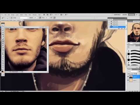 PiewDiePie - Speed Painting
