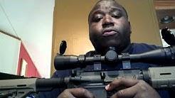 Ar-15 hog rifle and Winchester Razorback XT .223