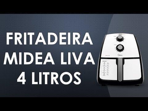 aad69611f Fritadeira sem óleo Midea Liva - Analise - YouTube