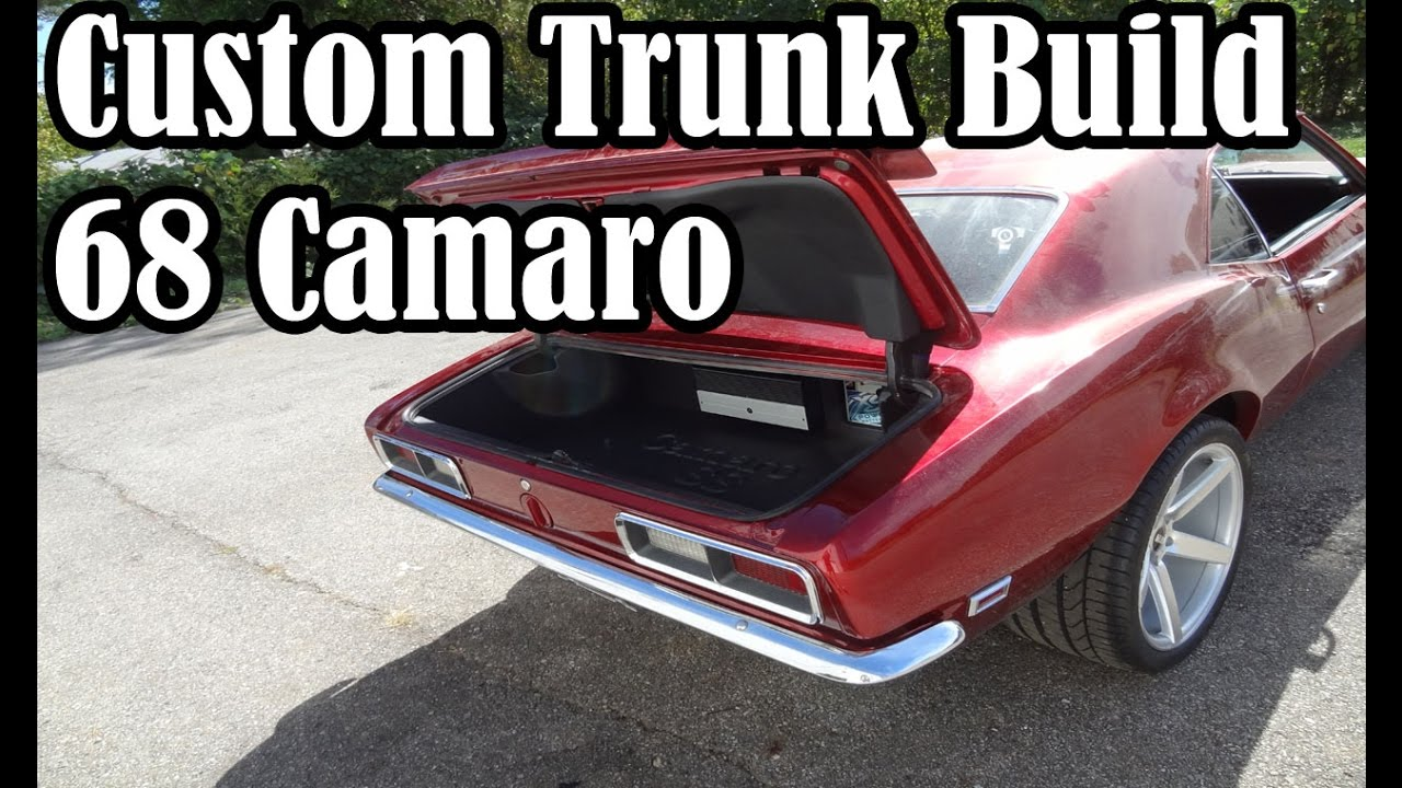 68 Camaro Trunk Build with JL Audio and XS Power Equipment