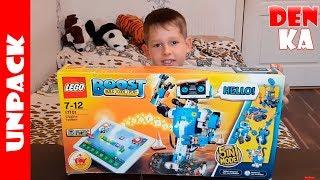 Lego Boost 17101 - Витягування і підключення до планшету. | Частина 1