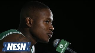 Terry Rozier On Difficulties Playing With Kyrie Irving, Celtics This Season