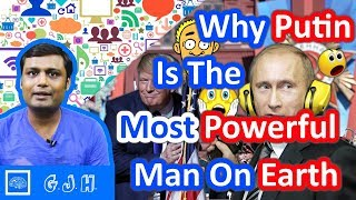 Why Vladimir Putin Is The Most Powerful Man On Earth and what make him so powerful ( Hindi )
