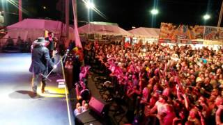 Montgomery Gentry Gone, Hell Yea!!  live at Sturgis 2014 front row VIP