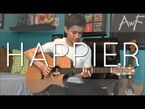 Happier - Ed Sheeran - Cover (fingerstyle guitar)
