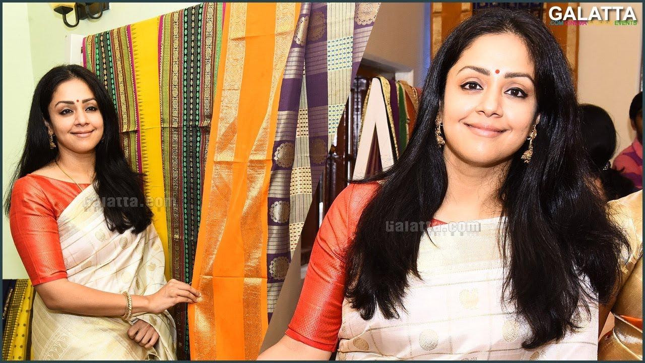 saree makes you feel confident and good - #jyothika @ vintage