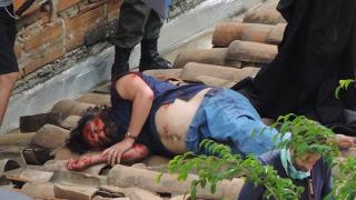 Narcos - Pablo Escobar death (EXCLUSIVE BEHIND THE SCENES)