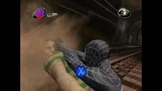 Spider-Man 3 Movie Game PC Black Suit Spider-Man vs. Sandman Boss Battle