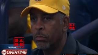Stephen Curry' Dad Was Mad af When His Son Blows 2 Wide-Open Threes!