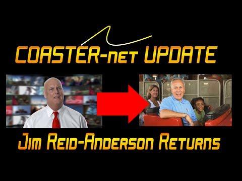 John Duffey Out, Jim Reid-Anderson Back In at Six Flags - COASTER-net Update