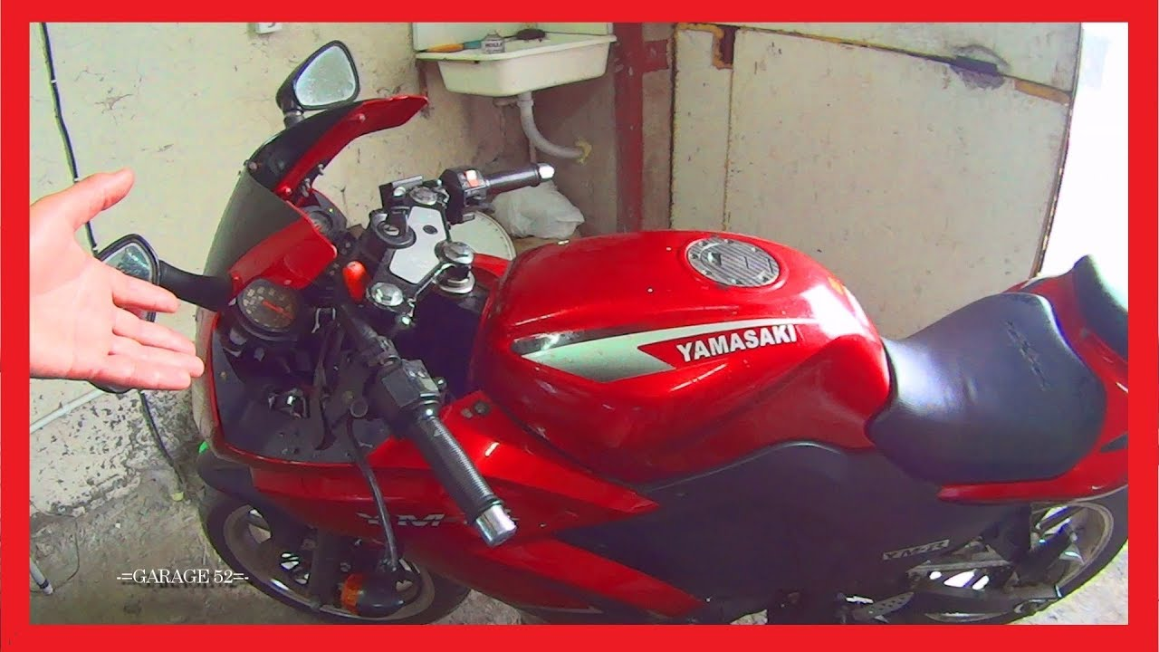 КУПИЛИ -= ЯМАСАКИ =- ЗА 20к. ОГОНЬ!!! | Мотоциклетное Подземелье в Тюнинге