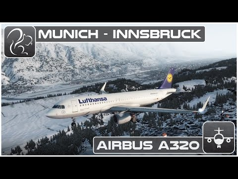 [P3D] Shared Cockpit Airbus A320 - Munich to Innsbruck [EDDM-LOWI]