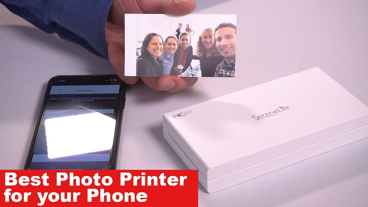 the best photo printer for phone mobile printer review youtube