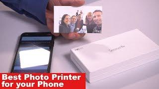 Video The Best Photo Printer for Phone - Mobile Printer Review download MP3, 3GP, MP4, WEBM, AVI, FLV Juli 2018