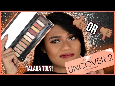 EB ADVANCE UNCOVER 2 PALETTE ON MORENA SKIN! (REVIEW, SWATCHES AND TUTORIAL) | JOHNREYSLIFE