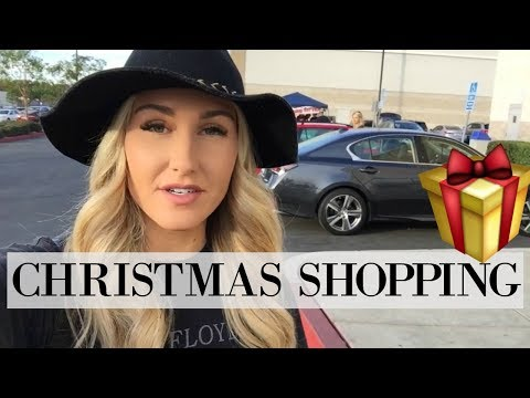 COME CHRISTMAS SHOPPING WITH ME | GIFT IDEAS FOR AN INFANT AND TODDLER | Tara Henderson