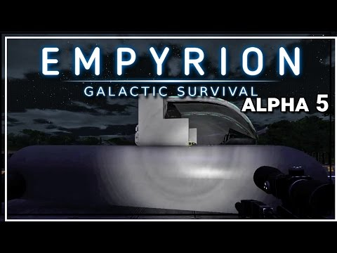 ★ Empyrion Galactic Survival alpha 5 gameplay - Hover vessel 1 - Part 7 - Empyrion alpha 5