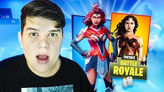 LENDARIA SKIN OF THE WONDER WOMAN OF THE FORTNITE ‹ JUAUM ›